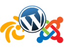 CMS - Joomla - Wordpress